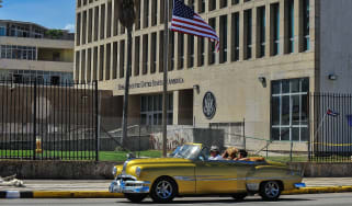 Cases were first reported at the US embassy in Cuba