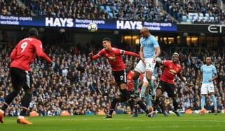 European super League Fifa Project Trophy Man City vs Man Utd