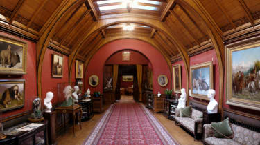 Cragside house, Northumberland