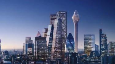 Proposed image of the Tulip skyscraper