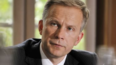 Governor of the Central Bank of Latvia Ilmars Rimsevics