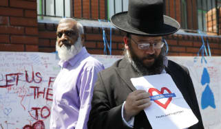 The attack has united North London's religious communities