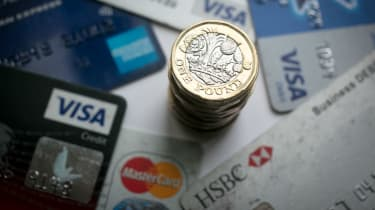 Credit cards are increasingly used to pay for smaller purchases