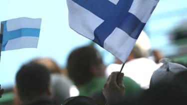 Finnish flag, Finland