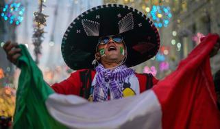 Mexico football fan