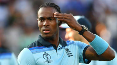 Jofra Archer made his England debut in the World Cup