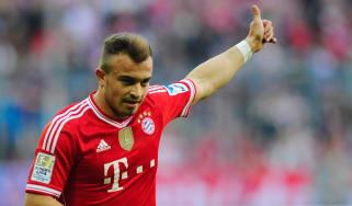 Xherdan Shaqiri of Bayern Munich