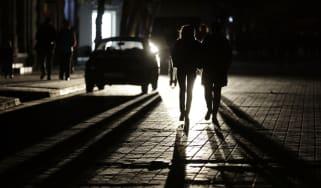 Crimea power cut