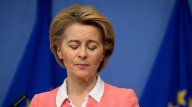 President of the European Commission Ursula von der Leyen