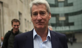 LONDON, ENGLAND - OCTOBER 22:The BBC's Newsnight presenter Jeremy Paxman leaves BBC Broadcasting House on October 22, 2012 in London, England. A BBC1 'Panorama' documentary, to be broadcast l