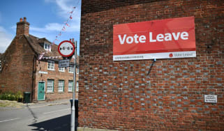 Vote Leave sign