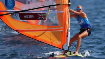 Emma Wilson Team GB windsurfing