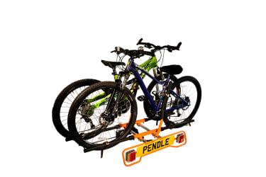 Bikes in Pendle Bike Rack