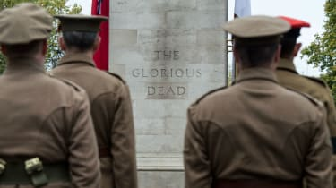 20,000 people will march past the Cenotaph in London to mark the centenary