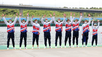 Team GB Men's Eight rowing