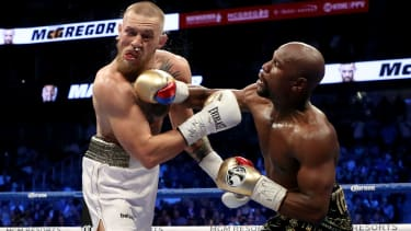Mayweather vs McGregor 2017