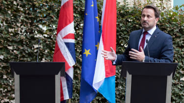 After meeting Juncker for lunch, Johnson skipped a press conference with Luxembourg's PM