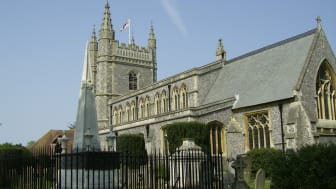 Beaconsfield Church in Buckinghamshire