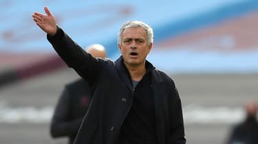 Jose Mourinho was appointed Tottenham head coach in November 2019