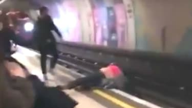 Green Park Tube fall