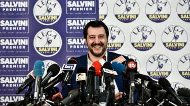 Matteo Salvini, Lega Nord, League