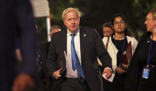 Boris Johnson in New York City