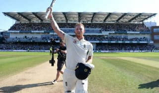 England's Ben Stokes celebrates his epic performance against Australia in the 2019 Headingley Ashes Test