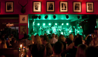Boisdale Canary Wharf London jazz