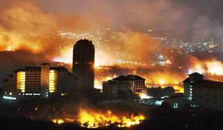 South Korea wildfires