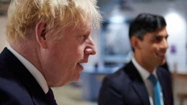Boris Johnson and Rishi Sunak