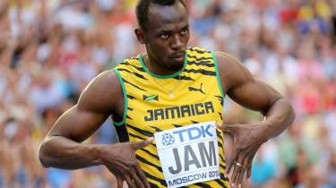 Sprinting sensation Usain Bolt
