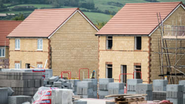 Housing construction in England