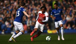Alex Iwobi left Arsenal for Everton on deadline day