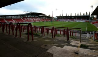 Welsh football club Wrexham play their home games at the Racecourse Ground
