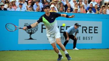 Andy Murray tennis Wimbledon 2018