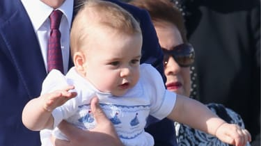 Prince George of Cambridge visits Australia for the first time