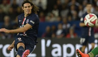Paris Saint-Germain's Uruguyan Edinson Cavan