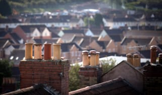 BRISTOL, ENGLAND - OCTOBER 08:A view of housing on October 8, 2014 in Bristol, England. On the first anniversary of the introduction of second phase of the Help to Buy scheme, which provides