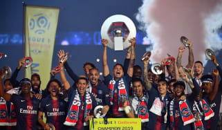 Paris Saint-Germain are the reigning champions of Ligue 1 in France