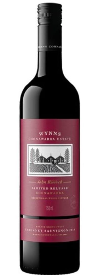 2018 Wynns Coonawarra Estate wine