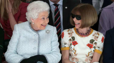 Queen and Anna Wintour