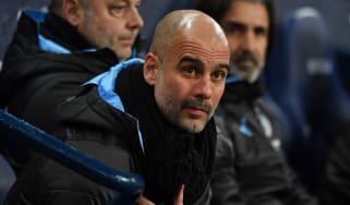 Manchester City boss Pep Guardiola previously managed Barcelona and Bayern Munich