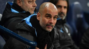 Manchester City boss Pep Guardiola previously managed Barcelona and Bayern Munich
