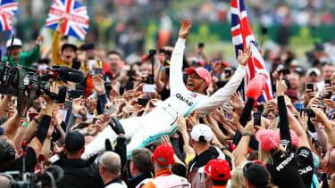 Lewis Hamilton won the 2019 F1 British Grand Prix at Silverstone