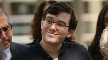 Martin Shkreli is facing up to 20 years in jail for securities fraud