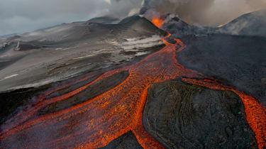 Russia. Kamchatka. volcano Tolbachik