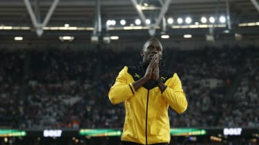 Usain Bolt London 2017 world athletics