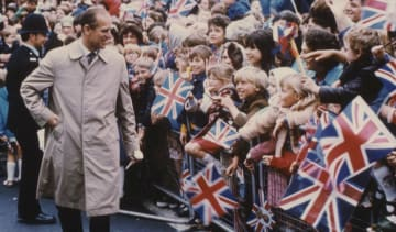 Prince Philip in Hull