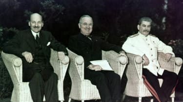 Stalin, Attlee, Truman