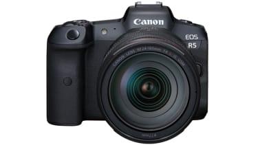 The Canon EOS R5 mirrorless camera